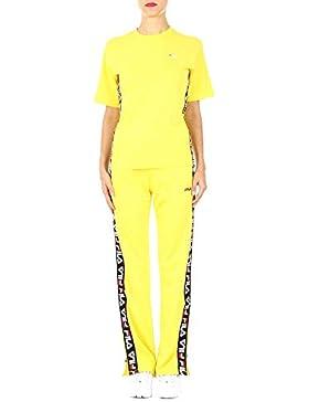 Fila Mujer 682321015 Amarillo Algodon T-Shirt