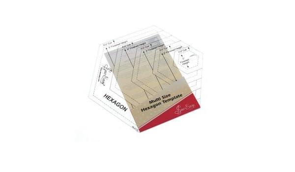 Sew Easy Patchwork-Vorlage, Sechseck: Amazon.de: Küche & Haushalt