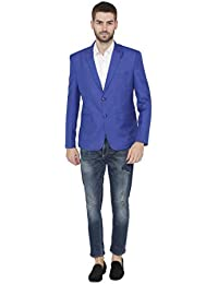 76e3534c095 Wintage Men s Polyester Cotton Two Buttoned Notch Lapel Festive and Casual  Blazer - Multiple Colors