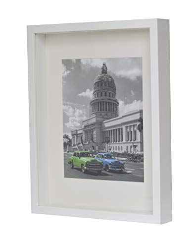 BD ART Marco 28 x 35 cm Box 3D Fotos Color Blanco
