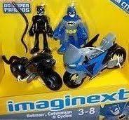 Imaginext DC Super Friends Exclusive Gotham City BatFemme CatFemme Cycles [parallel import goods] | Sale Online