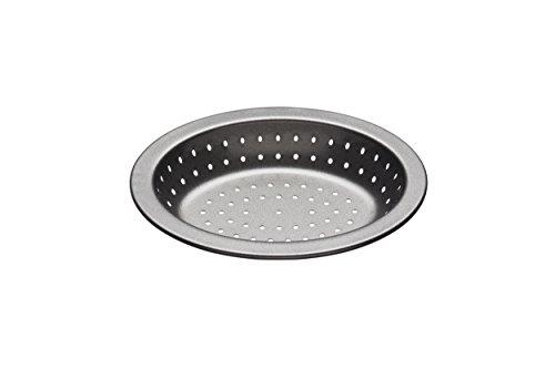 Kitchen Craft Auflaufform Master Class-Crusty Bake 13,5cm, Stahl, schwarz, 16.2 x 12.6 x 2.5 cm Ovale Pie Pan