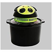 Cecofry Compact - Freidora dietética, sin aceite, color negro
