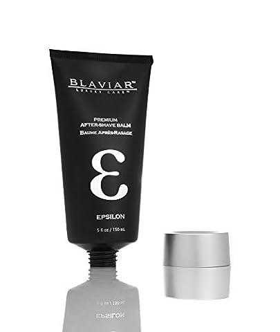 Epsilon by Blaviar | Ultra-Luxury Eau de Cologne After-Shave Balm, 5 fl oz / 150 mL by Blaviar (Fragrance Free Face Balm)