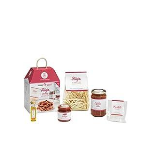 FILEJA AUS HARTWEIZENGRIESS MIT SOSSE AUS ROTEN ZWIEBELN UND 'NDUJA My Cooking Box x2 Portionen - In Zusammenarbeit mit Sonia Peronaci - Geschenkidee für Muttertag 2019