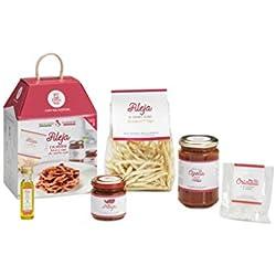 FILEJA CALABRESE con 'Nduja e Sugo alla Cipolla Rossa My Cooking Box x2 Porzioni - Idea Regalo Natale 2019