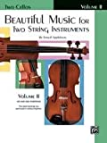 Alfred 00-El02213 Beautiful Music For Two String Instruments- Book Ii -
