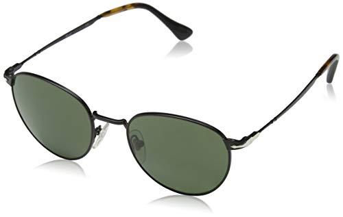Persol Herren 0Po2445S 107831 52 Sonnenbrille, Schwarz (Black/Green),
