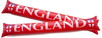 England Football Inflatable Clapper Sticks - Pack of 2