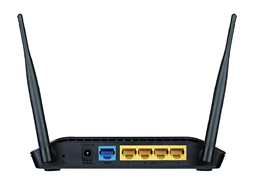 D-Link DIR-615 Wireless-N300 Router (Black, Not a Modem)