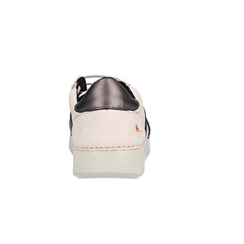 ART Schuhe 1134S Grain Soft White Anthracite Weiß