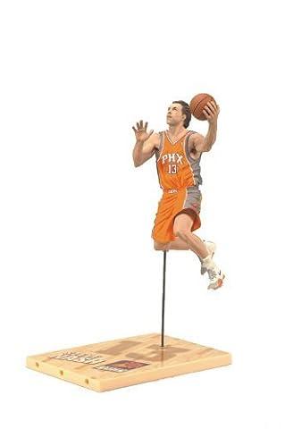 McFarlane Toys NBA Series 19 Steve Nash 3 Action Figure by McFarlane Toys (English Manual)