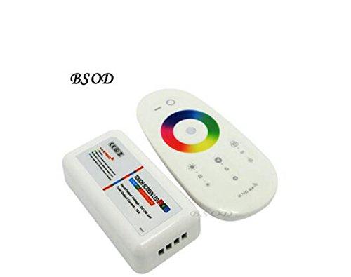 bsod populares RGB/RGBW controlador pared Panel Táctil LED Controlador 12V/24V18a Wireless 2.4G mando a distancia para tiras de LED RGB/RGBW (RGB)