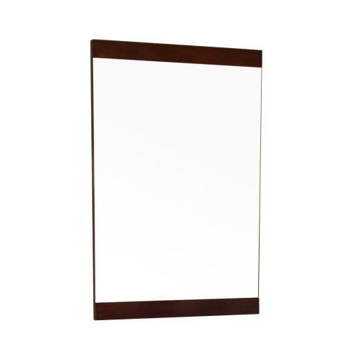Bellaterra Home 804381-MIRROR 19.7-Inch Mirror, Dark Walnut, Wood by Bellaterra Home