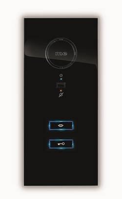 Preisvergleich Produktbild m-e modern-electronics m-e ADV-100 SS - Türsprechanlage - kabelgebunden Inneneinheit - Schwarz