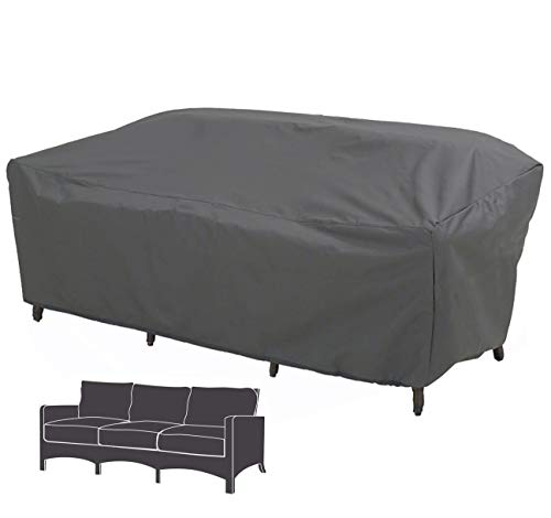 Hentex Cover Schutzhülle für Lounge Chair Gartenbank 3-Sitzer Abdeckung Loungesofa