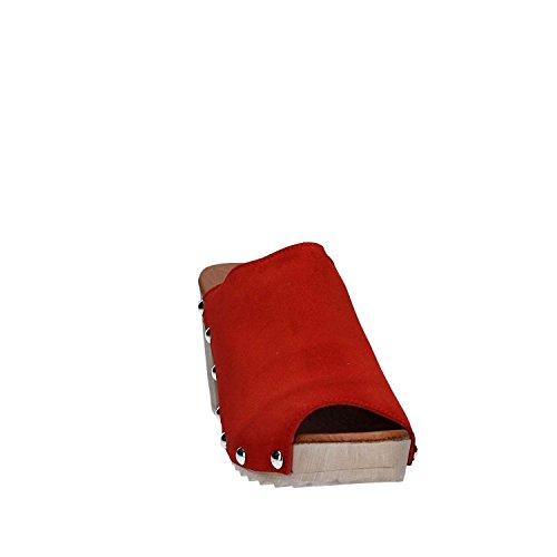 KEYS 5321 Scalzato Donna Rosso