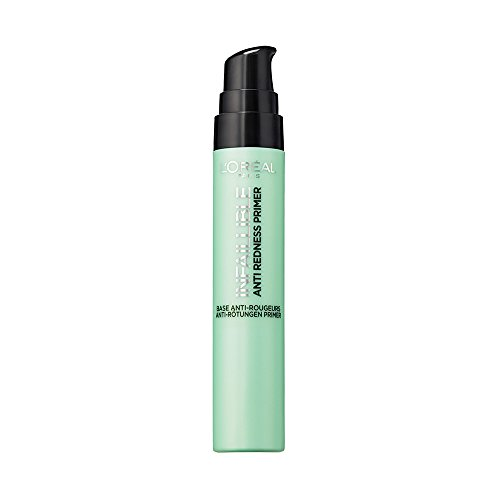 L'Oréal Paris Skin Primer Infaillible Anti-Redness Make Up Grundierung, 1er Pack (1 x 20 ml)