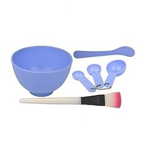 Panache Face Mask Bowl Set, Orchid Purple
