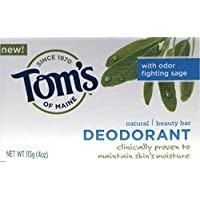 Natural Deodorant Beauty Bar 4 oz Bar(S) by Tom
