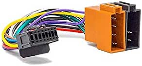 Cable For Car Radio Iso Wiring Adapter Pioneer 16 Pin Elektronik