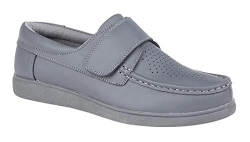 Dek Unisex Klettverschluss Bowling Schuhe (10 UK/44,5 EU) (Grau) -