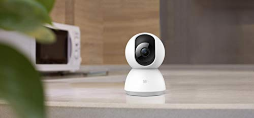 Xiaomi MI Home Security Camera 360° - Cámara de vigilancia, 1080p, blanco