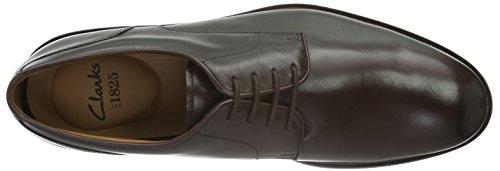 Clarks Herren Coling Walk Derby Braun (Walnut Leather)