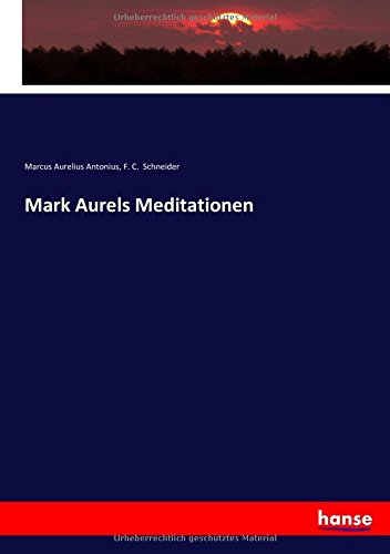 Mark Aurels Meditationen