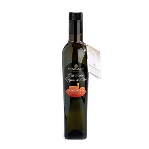 Olio extra vergine di oliva monocultivar carboncella 500ml