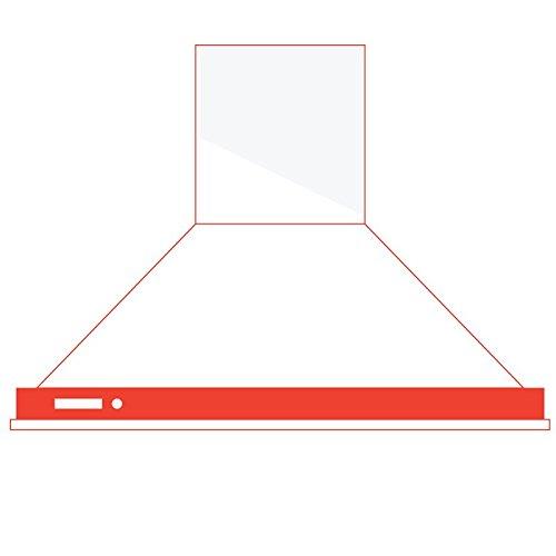 Smeg KD90HXE De pared Acero inoxidable 781m³/h A+ - Campana (781 m³/h,...