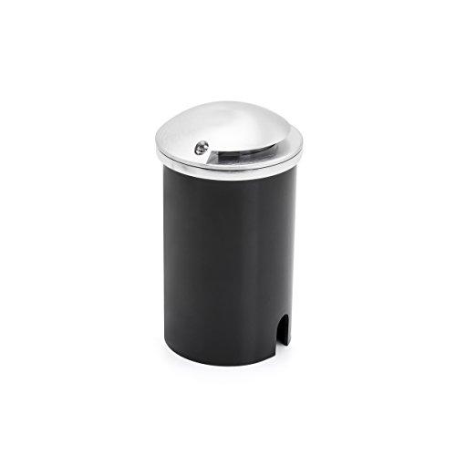 Gnosjö Konstsmide Flut- & Spotbeleuchtung, Aluminium, Integriert, silbergrau, 8.8 x 8.8 x 14.1 cm -