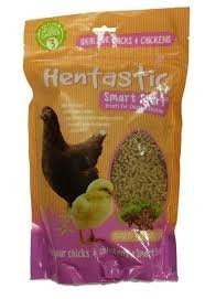 Hentastic Smart Start Aniseed & Fennel 1kg - Give your chicks and chickens a smart start - Rich in Omega 3 promoting bone development and