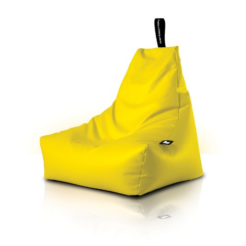 Mighty B-bag Indoor Bean Bag. More than just a Bean Bag this is an EXTREMELY COMFORTABLE piece of furniture - 11 colours to choose from (Yellow)