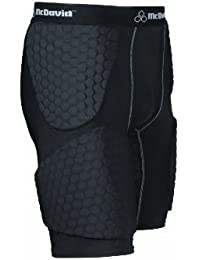 McDavid Wrap Around HexPad Thudd Short for Basketball (Black, Medium) by McDavid