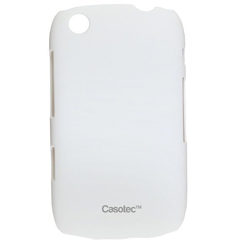 Casotec Ultra Slim Hard Shell Back Case Cover for BlackBerry Curve 9220 - White  available at amazon for Rs.125