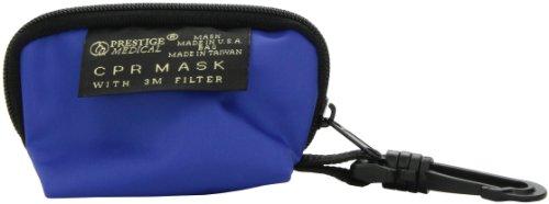 NCD Medical/Prestige Medical  Beatmungsmaske in Königsblauer Reißverschlusstasche