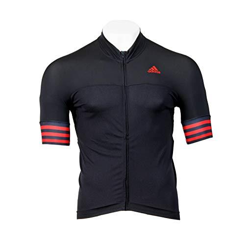 Radtrikot Adistar SS Jersey Herren black/vivid red L -