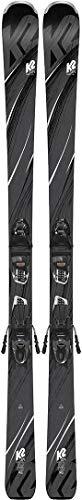 K2 Skis Damen Sweet Luv Erp 10 Quikclik Set Ski, Black/Anthracite, 163 cm