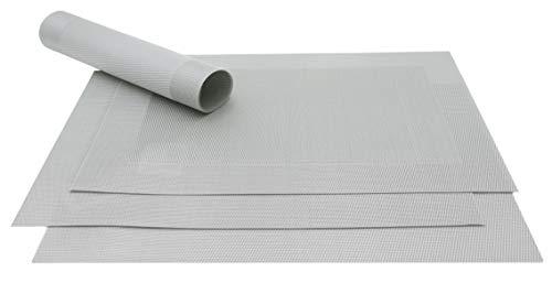 ZOLLNER® set 4 manteles individuales / salvamanteles