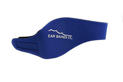 Kopfband / Ohrschutz für Schwimmer Blau blau S