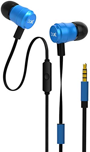 fb155314940 Boat Bassheads 235 V2 in-Ear Super Extra Bass Earphones with Mic (Ocean Blue