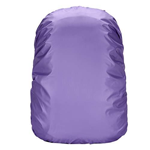 Regenschutz/Sicherheitshülle (Regenhüllle in auffälliger Signalfarbe, mit Gummizug, mit Aufbewahrungstasche, geeignet für Schulranzen und Rucksäcke)