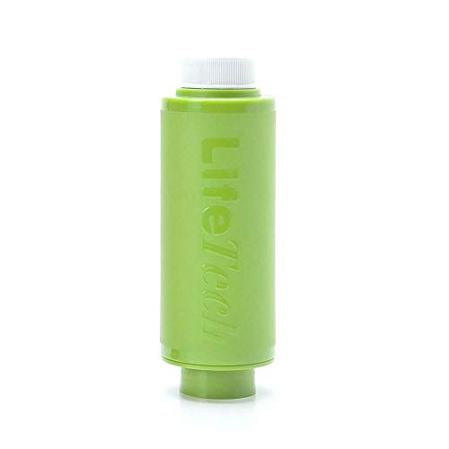 LifeTech Travel Pocket Filter Ultrafiltration Portable Water Filter - Green