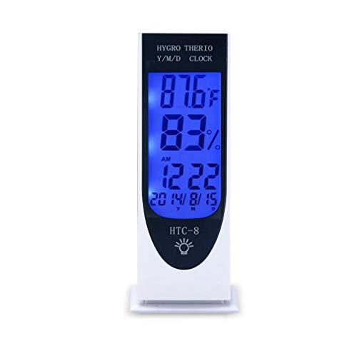 Higrometro Digital Termometro Higrometro Digital Relojes Jardin Hogar Termómetro E Higrómetro Electrónico...