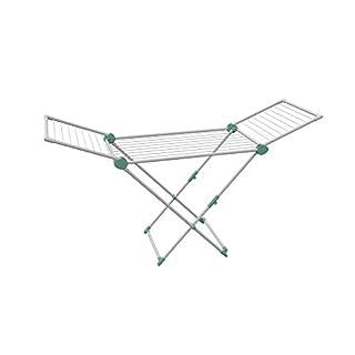Artweger 2S1MI Super Dry Maxi Rack, Plastic, White/Mint