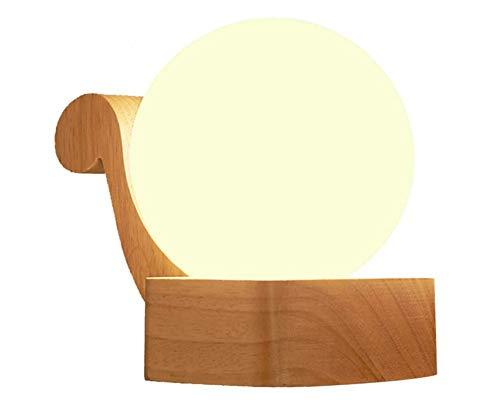 LED-Wandleuchten Industrielle Kreative Runde Transluzente Glas Lampenschirm Retro Nachttischlampen Treppe Schlafzimmer Wohnzimmer Beleuchtung Balkon Montage Licht, Links
