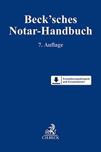 Beck'sches Notar-Handbuch