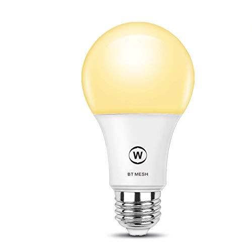 LED Bluetooth Grid Weiß Glühbirne, LED Birnen Gleichwertig hell E27 Base Edison Base Marine RV Glühbirnen Inselbeleuchtung Solar Betriebene LED Birnen für Android 4.0 / IOS9.0 (12 Rv-lichter Led)