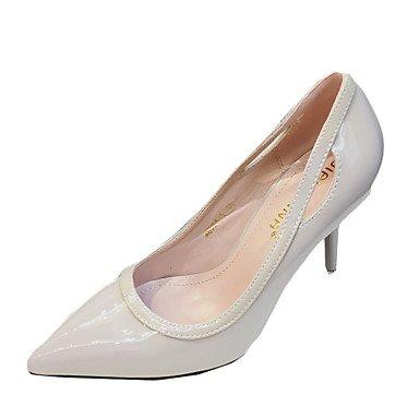 Moda Donna Sandali Sexy donna estate tacchi tacchi in pelle di brevetto Casual Stiletto Heel altri nero / rosa / Grigio / Fucsia Altri Pink